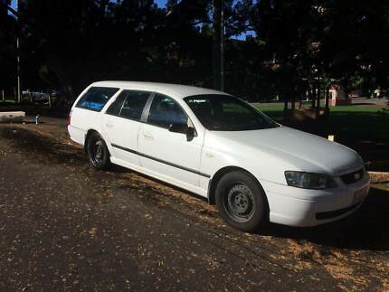 2003 Ford Falcon XT(Dual Fuel) Wagon with camping gear/bed