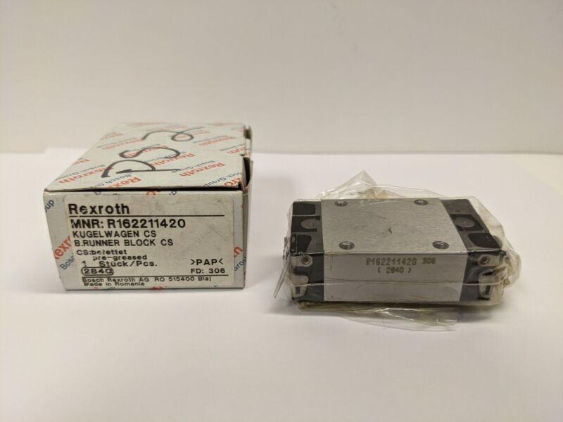 REXROTH R162211420 RUNNER BLOCK Linear Bearing -New