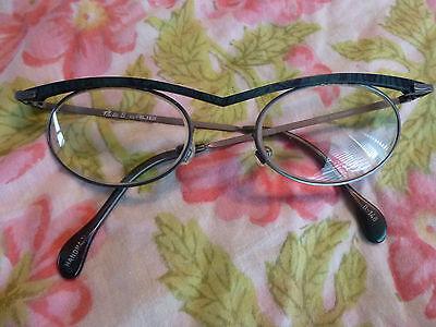 Alibi Milli B Eyeglasses Eyeglass Frame Germany Modern Abstract Designer (Owl Eyeglasses)