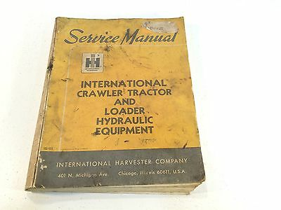 1967 International Harvester Crawler Tractor Loader Hydraulic Equipment Iss-1511