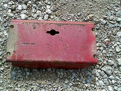 Farmall 504 Rowcrop Tractor Ih Ihc Front Gill Bottom Cover Panel Crank Hole