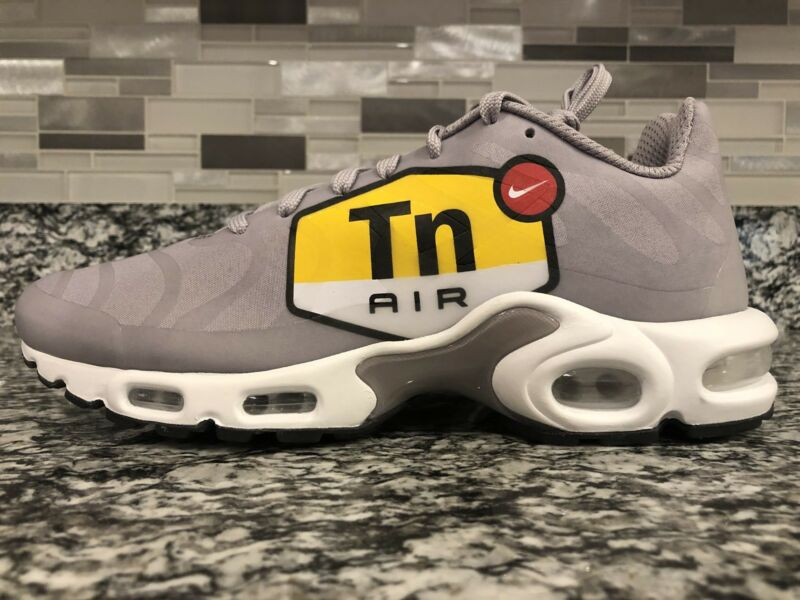 wholesale dealer 7fda5 1ce07 Nike Air Max Plus TN Tuned 1 NS GPX Big Logo Wolf Grey Black Size 9
