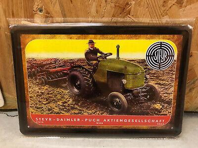Blechschild - Steyr Traktor 180 - 20x30cm