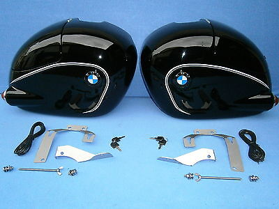 BMW saddle bags Pair with all hardware and acessoirs fit R505026060250S