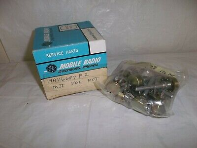 11 Vintage Potentiometer 19a116687p2 Impedance Control Pot Tube Amp