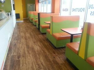 SOLD—Restaurant booth seating cheap—SOLD