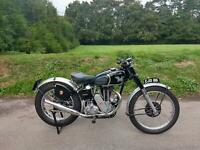 1948 MATCHLESS G3/C 350 COMPETITION MODEL, MINT, 73 YRS OLD, DOCUMENTED HISTORY