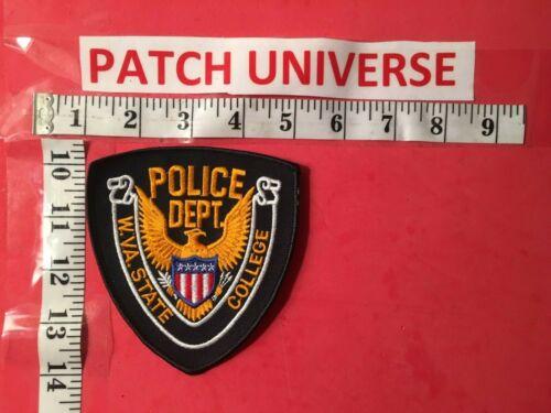 WEST VIRGINIA STATE COLLEGE POLICE  SHOULDER PATCH     J018