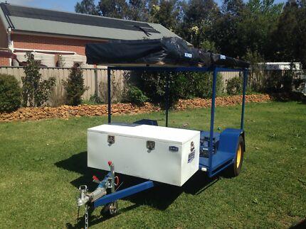 Motor Bike Camper trailer