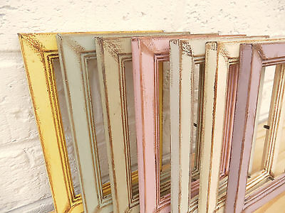 Photo/Picture Frame/Antique/Vintage/Shabby Chic/Choice 7 Vintage Colours/5 Sizes