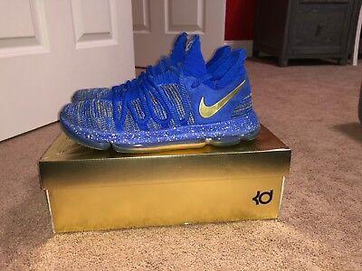 c0304222fa3f Nike KD 10 X Finals MVP Golden State Warriors Size 11 Jordan kobe Yeezy