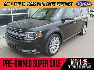 2015 Ford Flex Limited PRE-OWNED SUPER SALE ON NOW! AWD, LEAT...