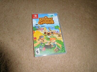 Animal Crossing New Horizons Nintendo Switch Game BRAND NEW FACTORY SEALED!