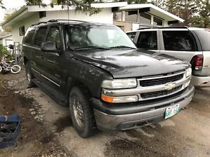 Parting out 2000 suburban