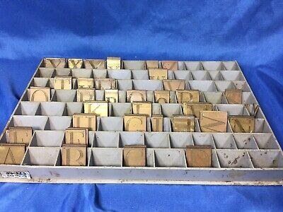 New Hermes 35-323 Old Engraving Fonts Letters