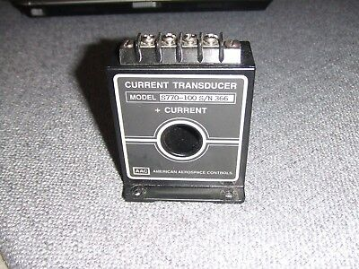 Aac American Aerospace Controls Current Transducer S700-100 Sn 366