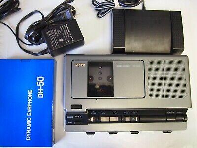 Sanyo Trc8030 Standard Cassette Transcriber
