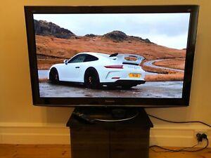 Panasonic 50 inch Plasma TV 1080p (Excellent Picture & Black Levels)