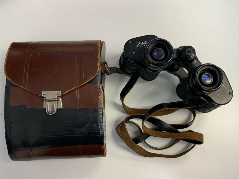 Swarovski 8x30 Habicht Binoculars with Leather Case- Made in Austria