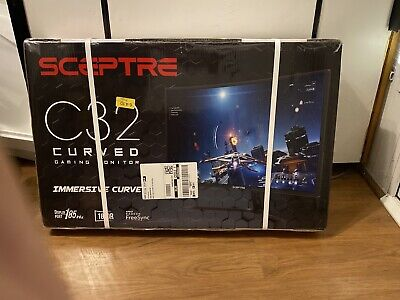 Sceptre 32-inch Curved Gaming Monitor up to 185Hz