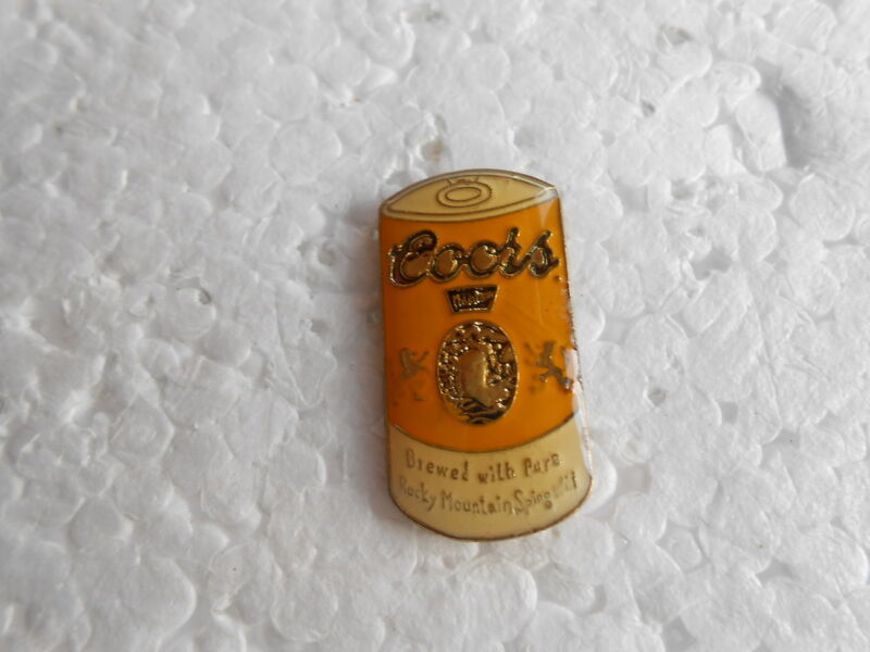 Vintage Coors Beer Can Advertising Pin