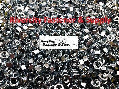 (5) 5/16-18 Left Hand Thread Hex Nuts 5/16