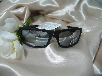 Klassische Designer Sonnenbrille MT1 UV400 Schwarz matt