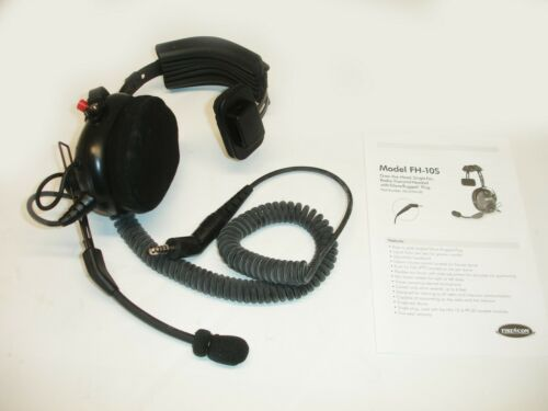 New FireCom  FH-10S Over-Head Style Radio Transmit Headsets
