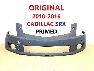 2010-2016 cadillac SRX front bumper cover w/ sensor holes & w/ washer holes