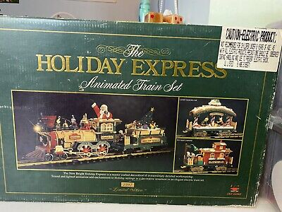 Christmas Train Set THE HOLIDAY EXPRESS VIntage Limited Edition 1997