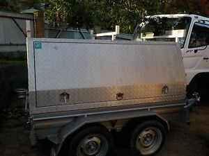 8x5 Dual Axle trailer , Tradesman, Building materials,not tipper Bulli Wollongong Area Preview