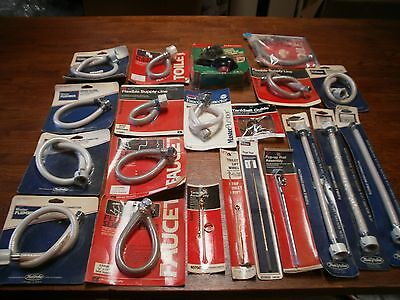Lot Of Plumbing Fittings Supplies 21 Items Pieces. New In Packages.
