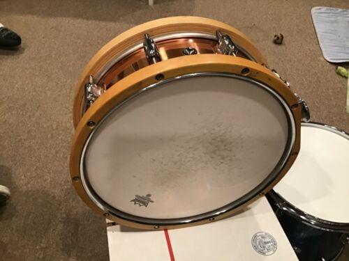 Legend snare drum  copper frame