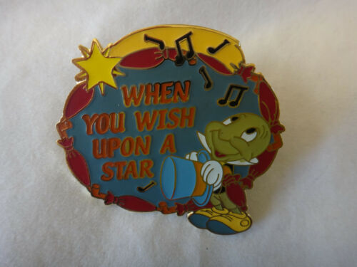 Disney Magical Musical Moments Pin 97 Jiminy Cricket When You Wish Upon a Star