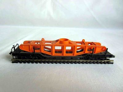 ARNOLD RAPIDO 0492 DB FLAT CAR WITH BRIDGE GIRDER - N Scale - 1970s Vintage for sale  Roslyn