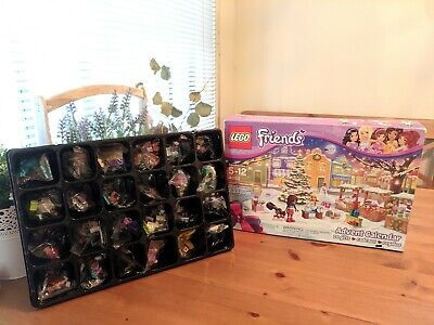 New Lego Friends Advent Calendar Set 41102 Sealed Bags opened box