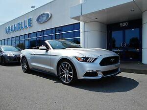 Ford Mustang 2015 convertible PREMIUM ecoboost, cuir, GPS