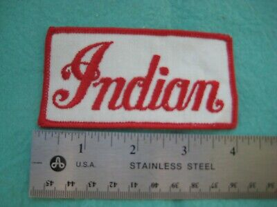 Vintage Motorcycle By Indian Service Dealer Patch
