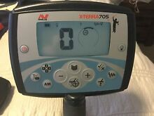 MINELAB X-TERRA 705 METAL AND GOLD DETECTOR,like new Pimpama Gold Coast North Preview