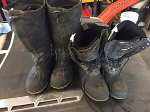 2 pair of Baffin winter work boots size 8
