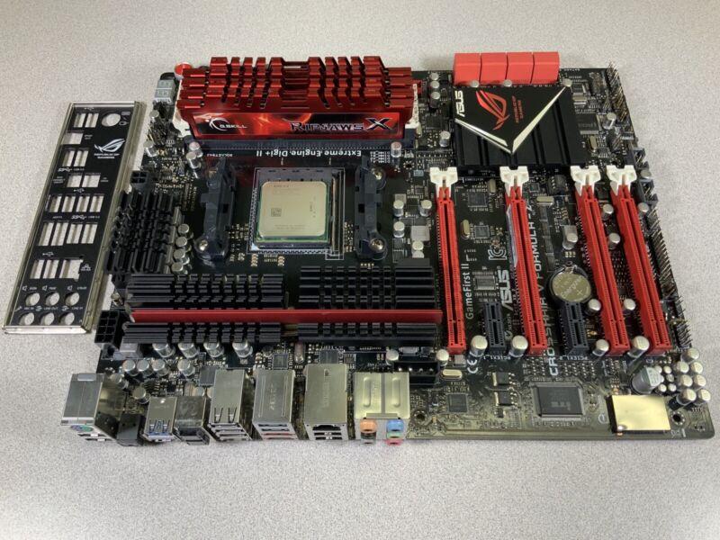 CROSSHAIR V FORMULA-Z AM3+ MOTHERBOARD + AMD FX-4300 3.8GHz + 16GB G.SKILL DDR3