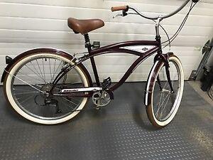 Cruiser bike.Reduced.