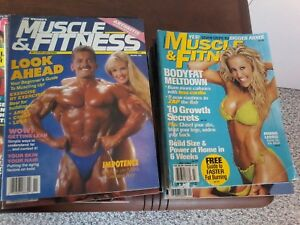 Vintage Muscle and Fitness Magazines