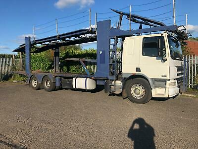 2008 DAF CF 310 BELLE 7 CAR TRANSPORTER 26 TON HGV RECOVERY TRUCK SLEEPER CAB