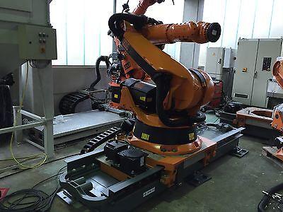 Roboter KUKA KR180,KRC2,mit Verfahrachse 3 m (längere Achsen verfügbar)