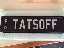 Personalized Number Plate Ascot Brisbane North East Preview