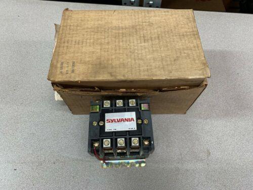 NEW IN BOX SYLVANIA CONTACTOR T77U032-76
