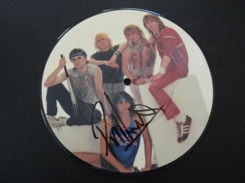 "Phil Lewis L.A. Guns GIRL Signed Autographed 7"" 45 Record PSA BAS Guaranteed"