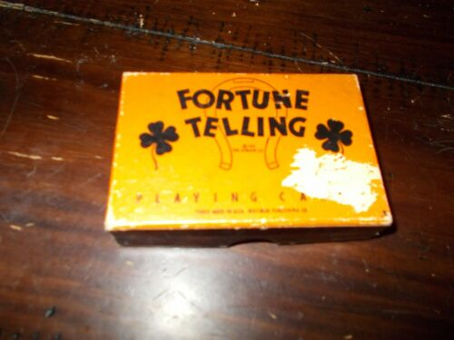 1931 Fortune Telling Playing Cards NICE