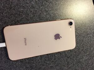 Gold iPhone 8 Mint Condition (unlocked)